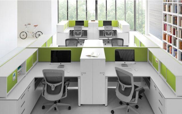 Trang trí văn phòng hiện đại 1